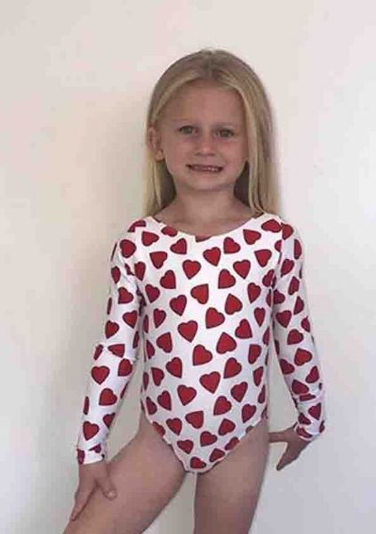 KNAVE OF HEARTS Long Sleeved Leotard From £30